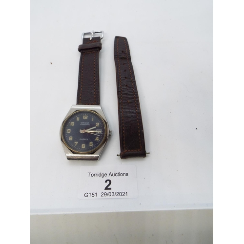 2 - Vintage Oriosa International Quartz Wrist Watch (S)
