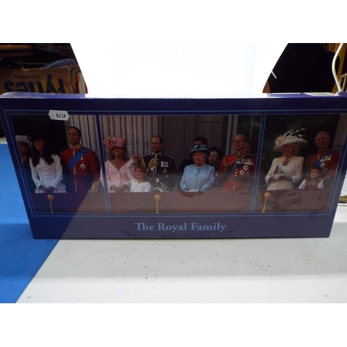 22 - Sealed, 3 in 1 Royal Family Jigsaw (2 x 500 PC, 1 x 1000 PC)  (T8)