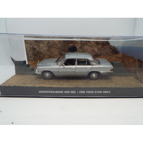 28 - James Bond Mercedes Benz 450 Sel For Your Eyes Only Car 1/43Rd Issue K8967Q (C24)