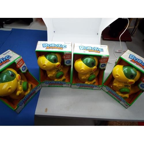 30 - Four Children's Robotic Animals Dino 2.0   (T8)