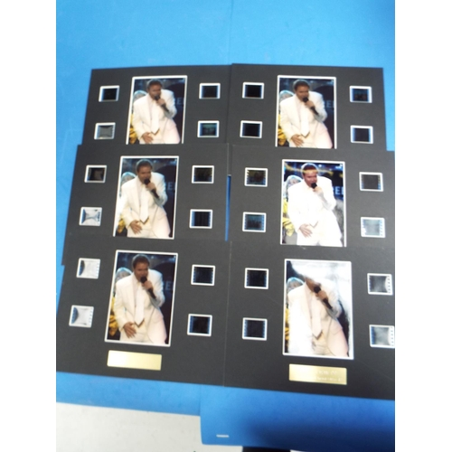 5 - x6 Unframed Cliff Richard Original Film Cell Special Edition S2 Montages (C21)