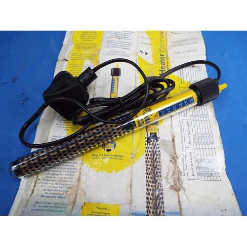53 - ALGARDE Thermoststic Heater for Fishtanks (T6)