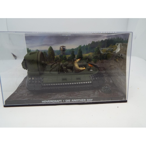 9 - 007 James Bond Car Collection #93 Osprey 5 hovercraft (Die another day) (C24)