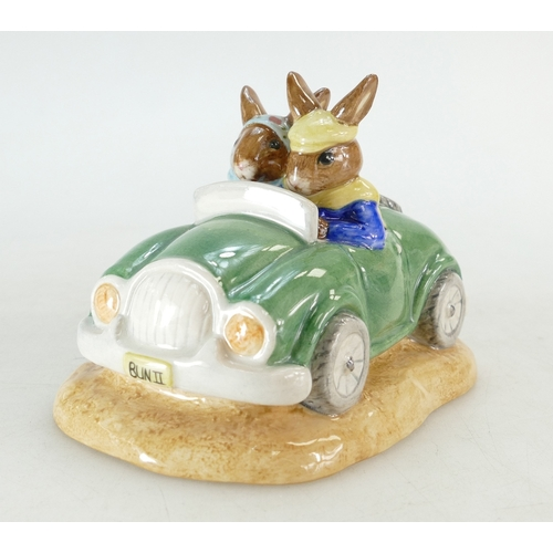 13 - Royal Doulton Bunnykins figure Day Trip DB260, limited edition with cert...