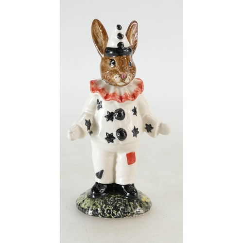 18 - Royal Doulton Bunnykins figure Clown DB128, limited edition of 750...