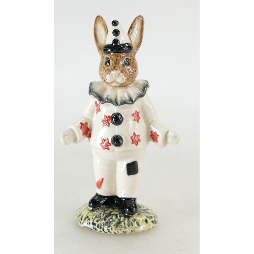 19 - Royal Doulton Bunnykins figure Clown DB129 Exclusive UKI edition of 250 signed Michael Doulton...