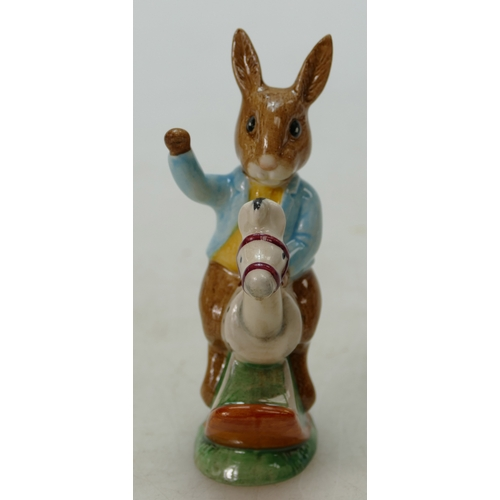 4 - Royal Doulton Bunnykins figure Tally Ho DB78, special USA colourway, boxed...