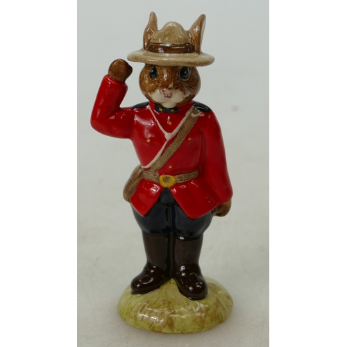 5 - Royal Doulton Bunnykins figure Mountie DB135, limited edition of 750, boxed...