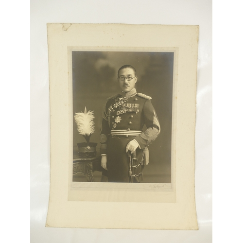 13 - Marquis General Toshinari Maeda Japan 1885 - 1942 - Japanese general active during WWII - large stud...