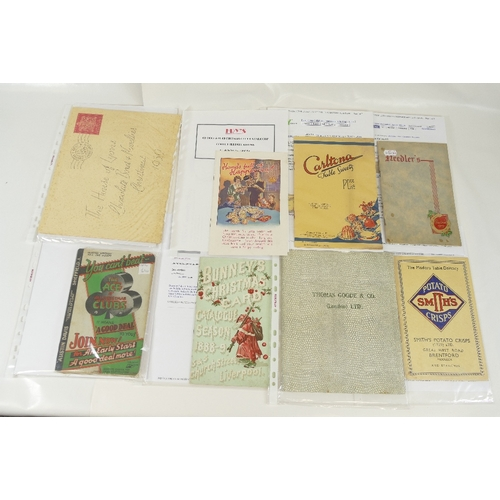 180 - Trade catalogues including Needler's Christmas 1939, The Ace of All Christmas Clubs Austin Davies Sh...