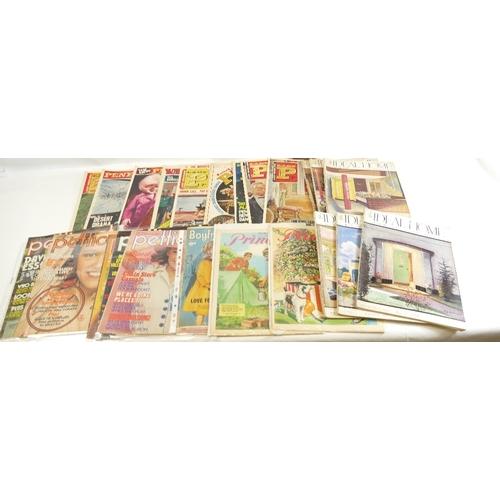 47 - Lady Penelope 'LADY P' magazine 1966 x 9 together with Ideal Home magazine 1939 x 10, Pottery Gazett...