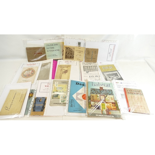 66 - Large quantity of household item related BOOKLETS AND LEAFLETS including - Minster Fireplaces, Dent ...
