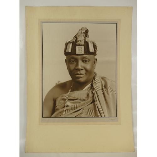 7 - Nana Sir Ofori Atta (1881-1943), Member of Executive Council of Gold Coast (Ghana).  Lafayette large...