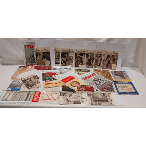 70 - A collection of 28 Household and general BOOKLETS AND  LEAFLETS - to include Marks and Spencer Staff...