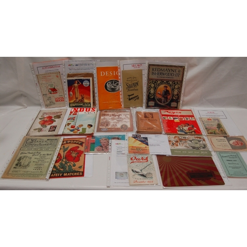 81 - A collection of vintage BROCHURES MAGAZINES and LEAFLETS including - Design magazine, Silcarn, Redma...
