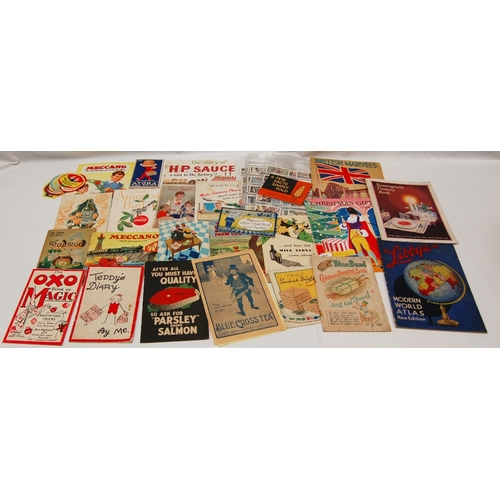 90 - A collection of vintage advertising HOUSEHOLD related PAMPHLETS, BOOKLETS AND LEAFLETS - mostly 1950...