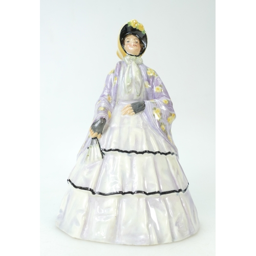 416 - Royal Doulton early figure The Lilac Shawl HN44, signed by C J Noke, height 24cm...