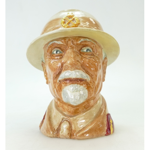 431 - Royal Doulton large character jug Field Marshall J C Smuts (restoration to brim of hat)...