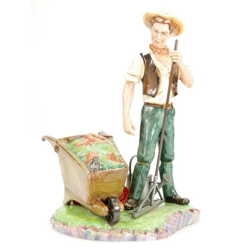384 - Royal Doulton prestige figure The Head Gardner HN4941, height 25cm, limited edition with certificate...
