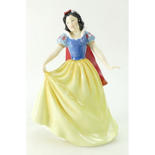 414 - Royal Doulton Character figure Snow White, boxed with certificate...
