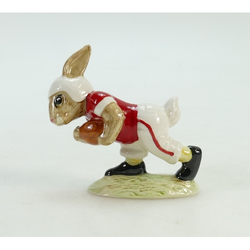 426 - Royal Doulton Bunnykins figure Touchdown DB100, limited edition in Indiana University colours...