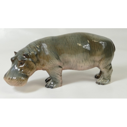 573 - Beswick Hippopotamus 1532...