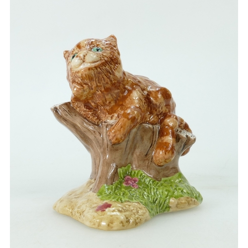 587 - Beswick figurine The Cheshire Cat 2123 from the Wonderland collection. Boxed with certificate...