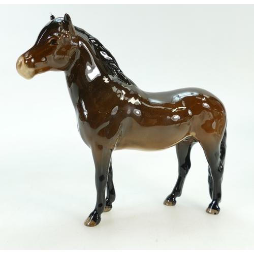 617 - Beswick model of an Exmoor pony 'Heatherman' 1645...