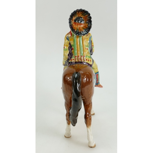 632 - Beswick Mounted Indian, model 1391...