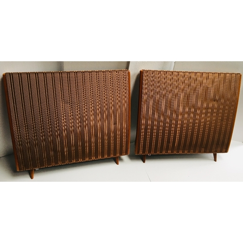 741A - A pair of Quad ESL 57 Electrostatic speakers. Untested (2)...
