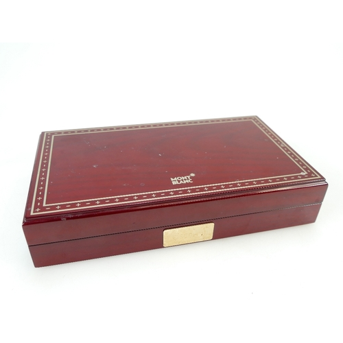 936 - Mont Blanc Joseph II fountain pen, limited edition in presentation box with booklet...