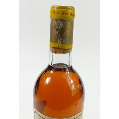 943 - 1971 Chateau d'yquem lur-saluces Bordeaux table wine, 730ml...