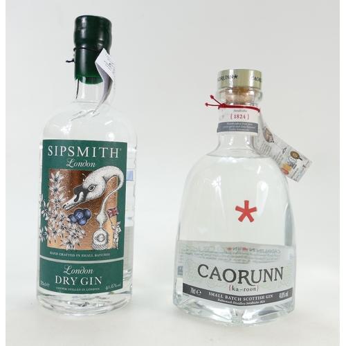 952 - Sipsmith London Dry Gin and Caorunn Scottish Gin (2)...