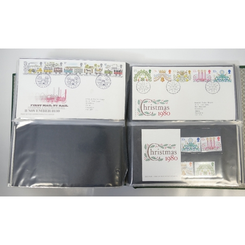 967 - Large quantity of GB FDC First Day Covers & stamp presentation pack - 1960's - 80's....
