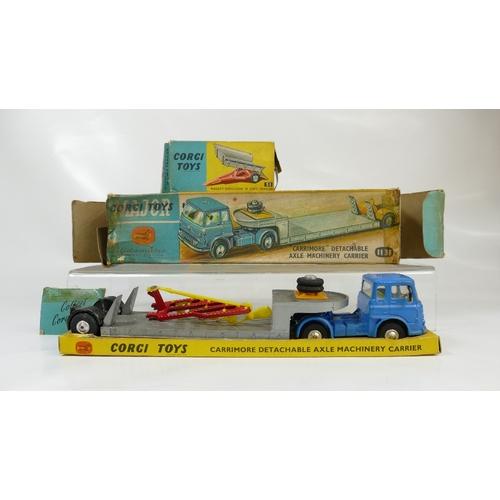 985 - Corgi x 2 models - Corgi Plough in Good cond. but incorrect box (box no. 51,  conditon poor/fair) an...