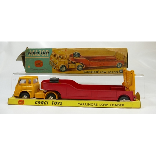 1034 - Corgi 1132 Carrimore Low Loader in excellent to near mint condition and with original display inner....