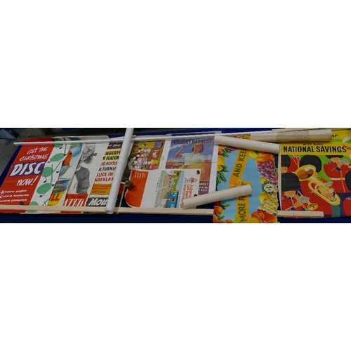 188 - A collection of 37 advertising and promotional POSTERS many from the 1930's/40's/50's including - 19...