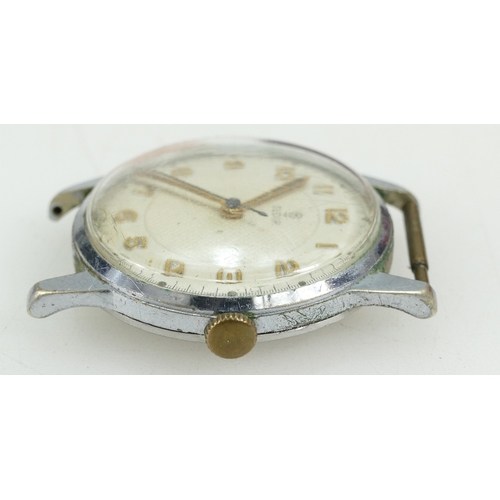 1239 - ROLEX TUDOR stainless steel case.  Not in working order. 32mm....