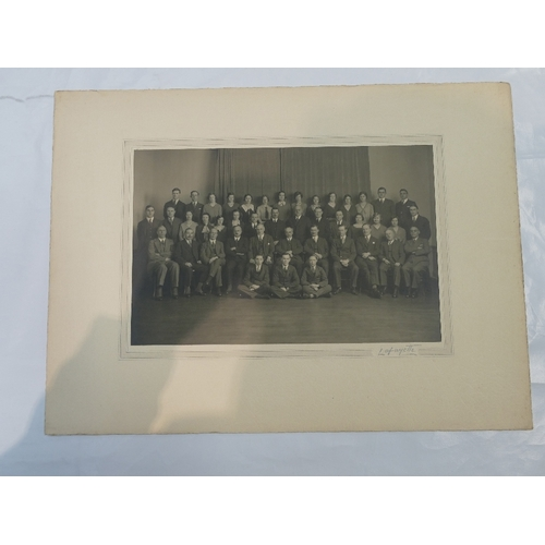 25 - Large group of FIFTY named and unnamed LAFAYETTE photographs - ladies and gentlemen including - Miss...