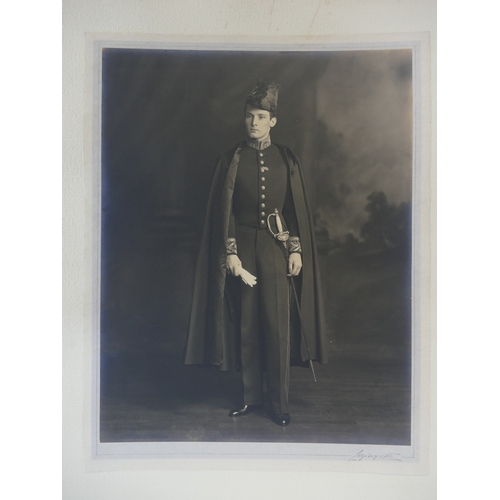 30 - Three large Lafayette studio Photographs - Sir William Keel, The Honourable Claude James & an untitl...