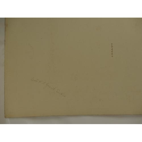 9 - Lt. Col. H F Grant-Suttie - Lafayette large studio portrait bearing full title and description, to r...