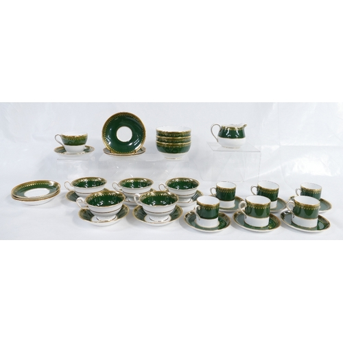 194 - Very large quantity of Spode Ashdown pattern dinner and teaware, advised never used from new by clie...