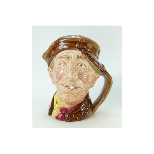 456A - Royal Doulton large character jug Brown Pearly boy....