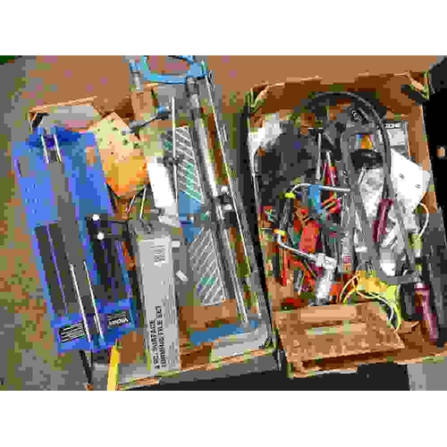 3 - Large mixed collection of tools, to include saws, vices, jigsaws, files, hand drills, saw vice etc(2...