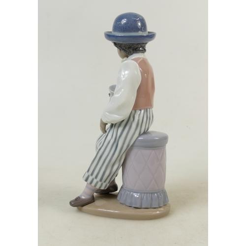 13 - Lladro Jazz Band Figure titled 'Jazz Bass': LLadro model 5834 25cm....