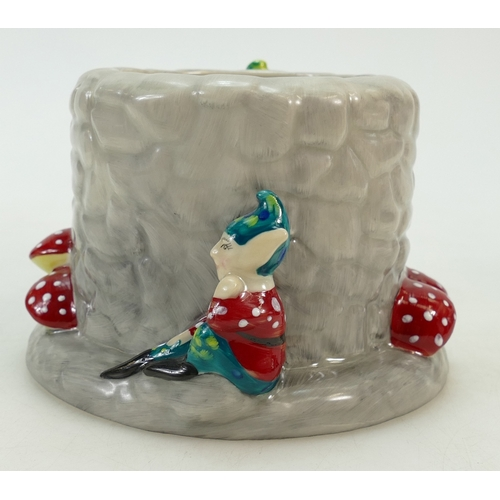32 - Old Court Pottery Pixie Land pot: Pixie Land pot limited edition 314/750, with certificate....