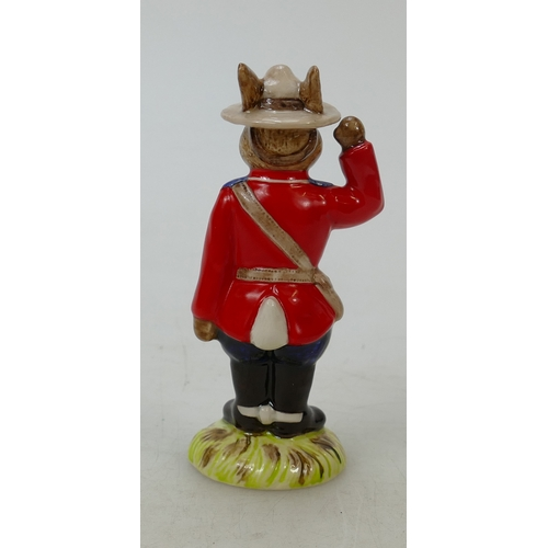11 - Royal Doulton Bunnykins figure Mountie: DB135, limited edition of 750...