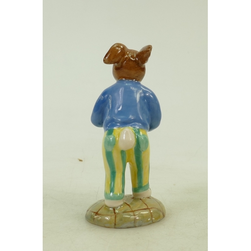 2 - Royal Doulton colourway bunnykins figure: Royal Doulton Bunnykins figure Sweetheart, painted in a di...