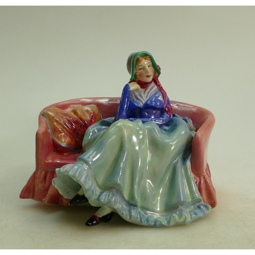 26 - Royal Doulton figure Reflections HN1848: Early figure dated 1938....