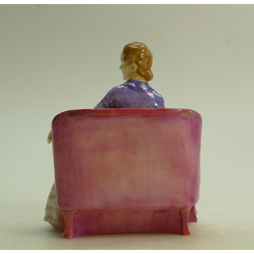 28 - Royal Doulton figure Cicely HN1516: Early model dated 1932....